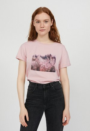 NAALIN - Print T-shirt - pale mauve