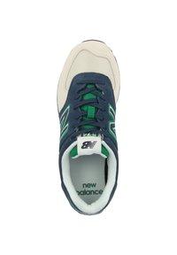 New Balance - SCHUHE ML 574 - Trainers - natural indigo/hula green - 1