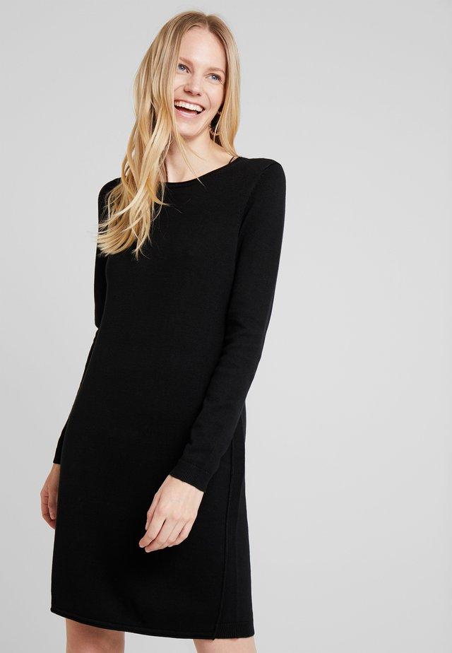 DRESS - Robe pull - black