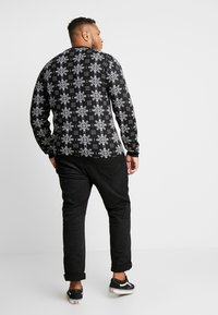 Jack´s Sportswear - XMAS ICEFLOWER - Jumper - black - 2