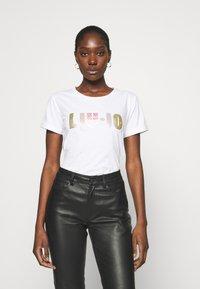 Liu Jo Jeans - Print T-shirt - bianco - 0