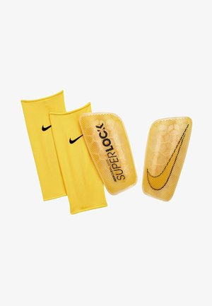 MERCURIAL FLYLITE SUPERLOCK UNISEX - Shin pads - yellow/black