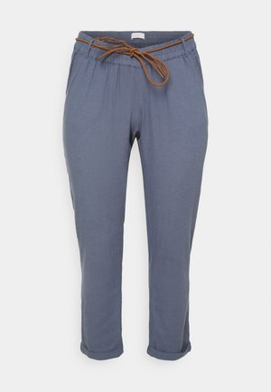 MLBEACH BELT WOVEN PANT - Trousers - china blue