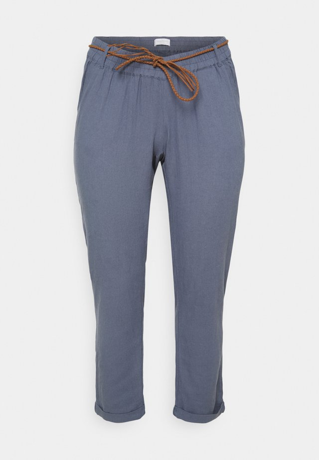 MLBEACH BELT WOVEN PANT - Pantalon classique - china blue