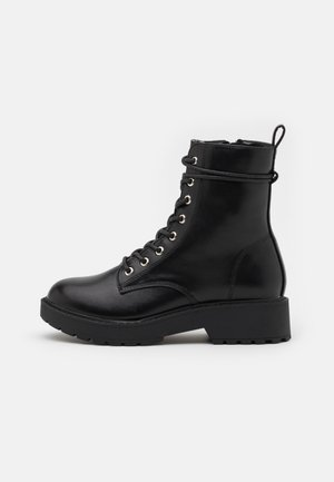 JTORNADO - Lace-up ankle boots - black