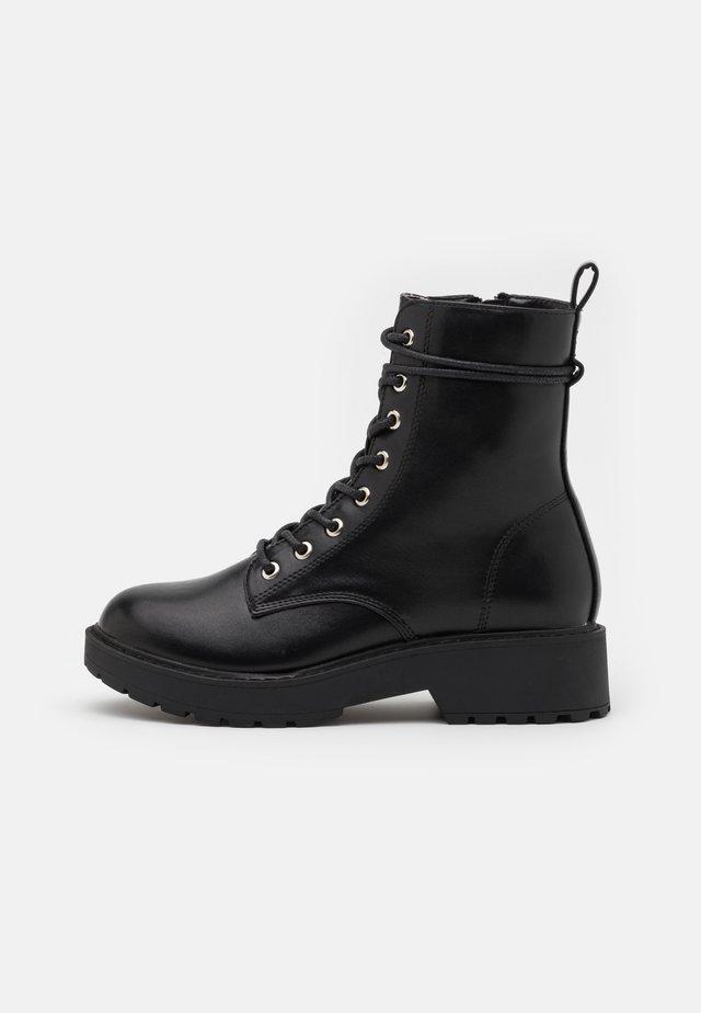 JTORNADO - Lace-up ankle boots - black