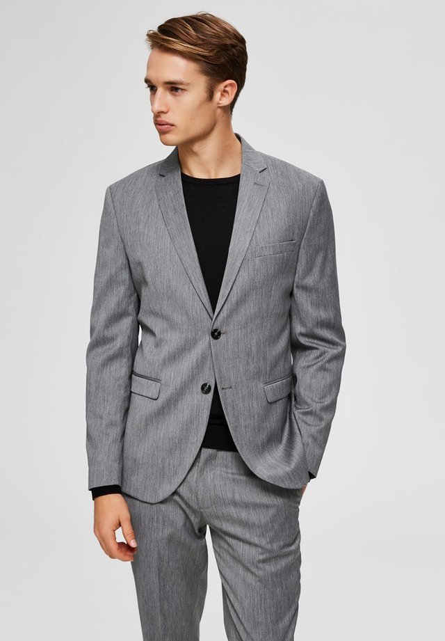 Veste de costume - light grey melange