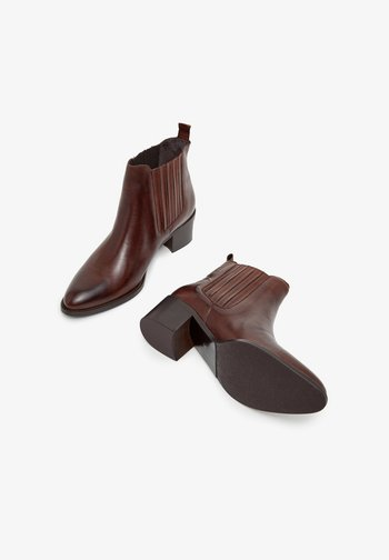 BIACAROL  - Classic ankle boots - dark brown