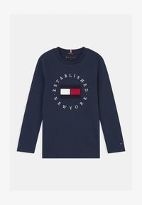 Tommy Hilfiger - HERITAGE LOGO - Camiseta de manga larga - blue - 0