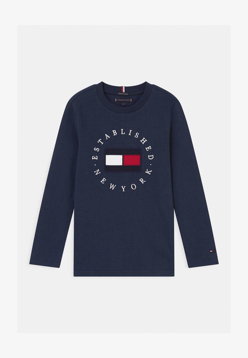 Tommy Hilfiger - HERITAGE LOGO - Camiseta de manga larga - blue