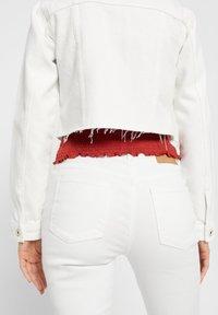 Pieces - Denim jacket - bright white - 5