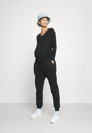 LONG SLEEVE 3 PACK - Långärmad tröja - black/white/silver