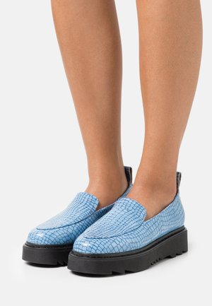 REALLY LIKE YOU - Slip-ons - blue