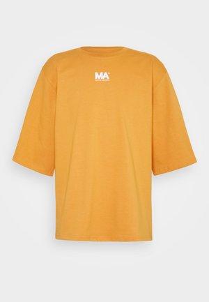 TEE - Print T-shirt - golden ochre
