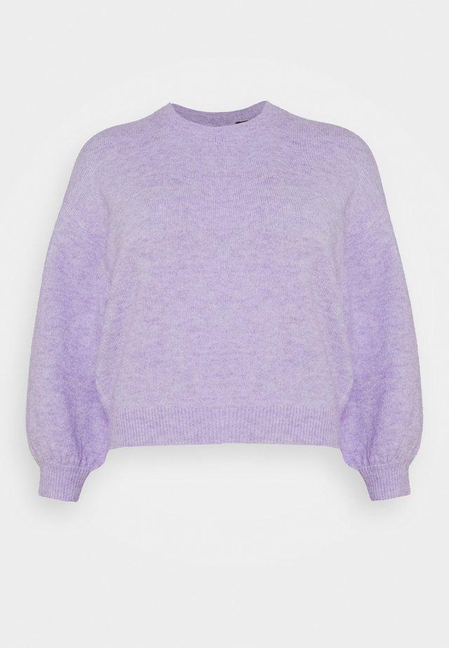 PCSANY O-NECK - Maglione - lavender