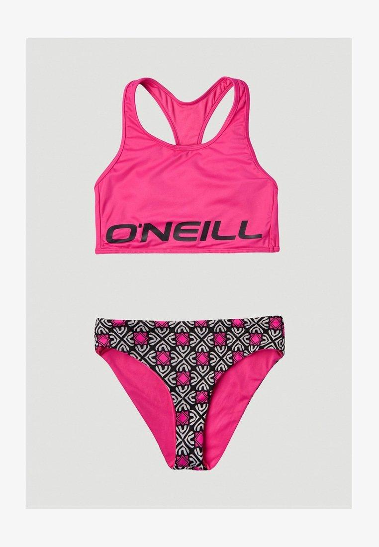 O'Neill - Bikini - black with purple