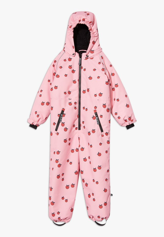 SNOWSUIT ZIPPER APPLE - Talvihaalari - sea pink