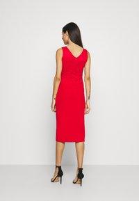 WAL G. - BRINLEY MIDI DRESS - Sukienka z dżerseju - red - 2