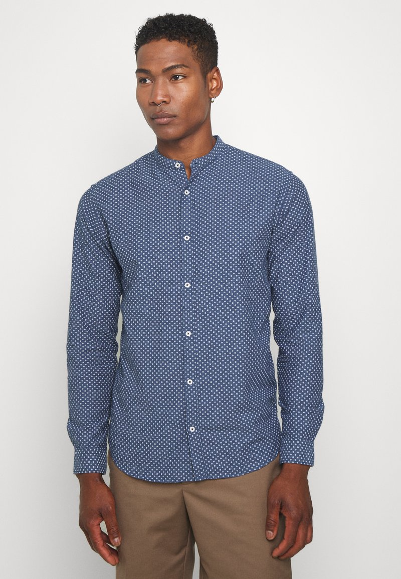 Jack & Jones PREMIUM - JPRBLASUMMER BAND SHIRT - Shirt - navy blazer