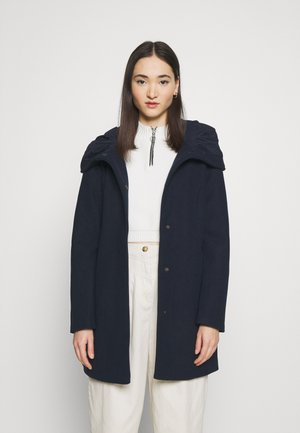 VICANA HOOD  - Short coat - navy blazer