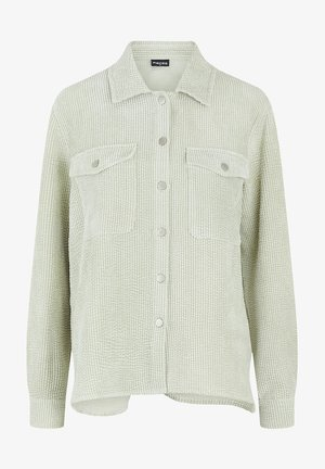 Button-down blouse - desert sage