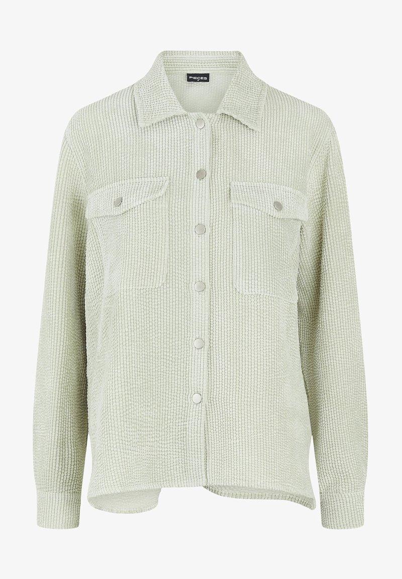 Pieces - Button-down blouse - desert sage