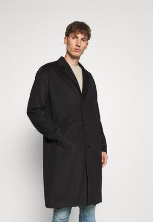 RUBEN - Classic coat - black