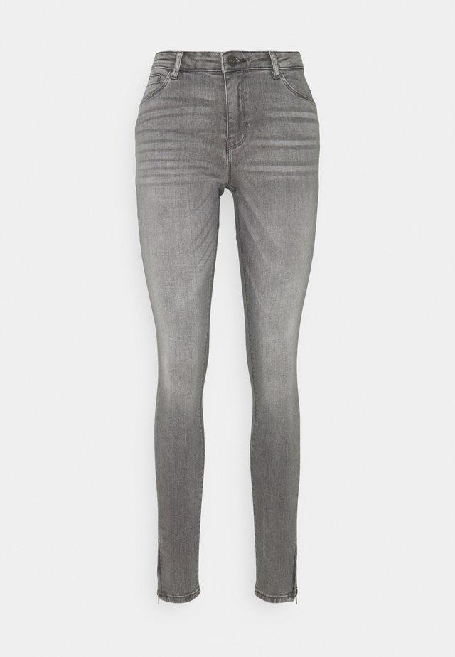 NMKIMMY - Jeansy Skinny Fit - light grey denim