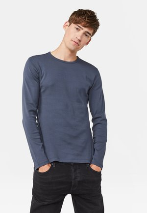 Long sleeved top - greyish blue