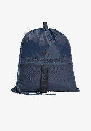 Drawstring sports bag - blue