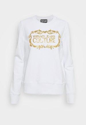 LADY LIGHT - Sweatshirt - optical white/gold