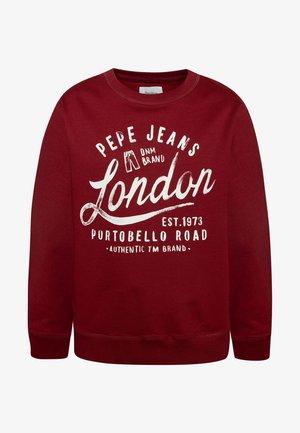 Sweatshirt - garnet