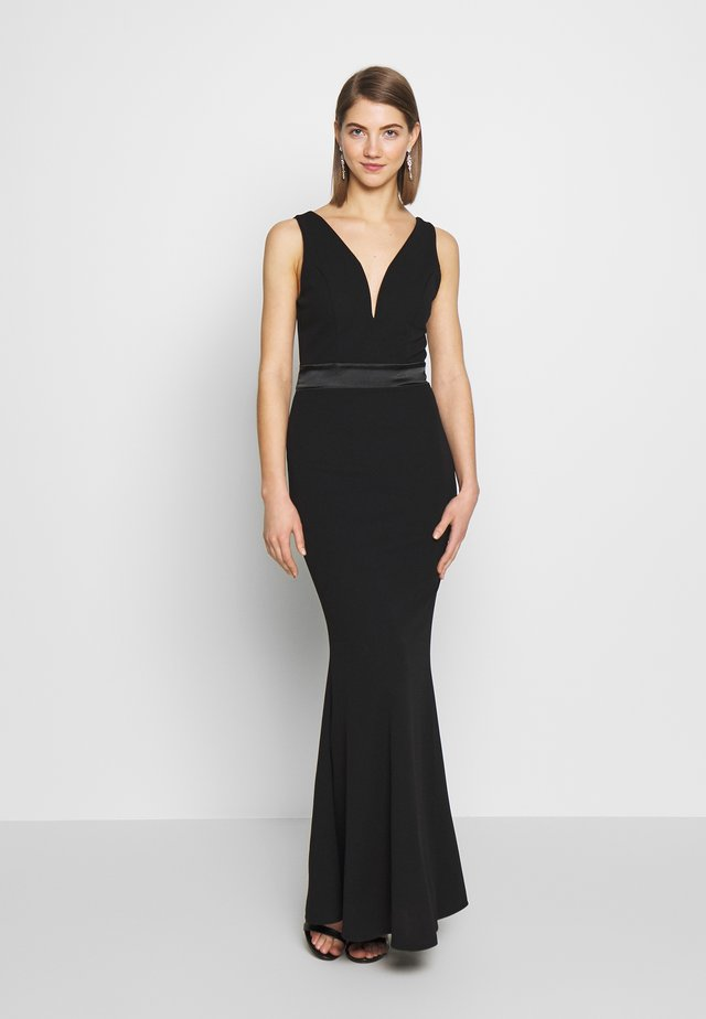 BAND MAXI DRESS - Galajurk - black