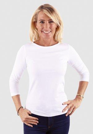 VENUS - Long sleeved top - white