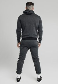 SIKSILK - TONAL CHECK AGILITY ZIP THROUGH HOODIE - Summer jacket - grey - 2