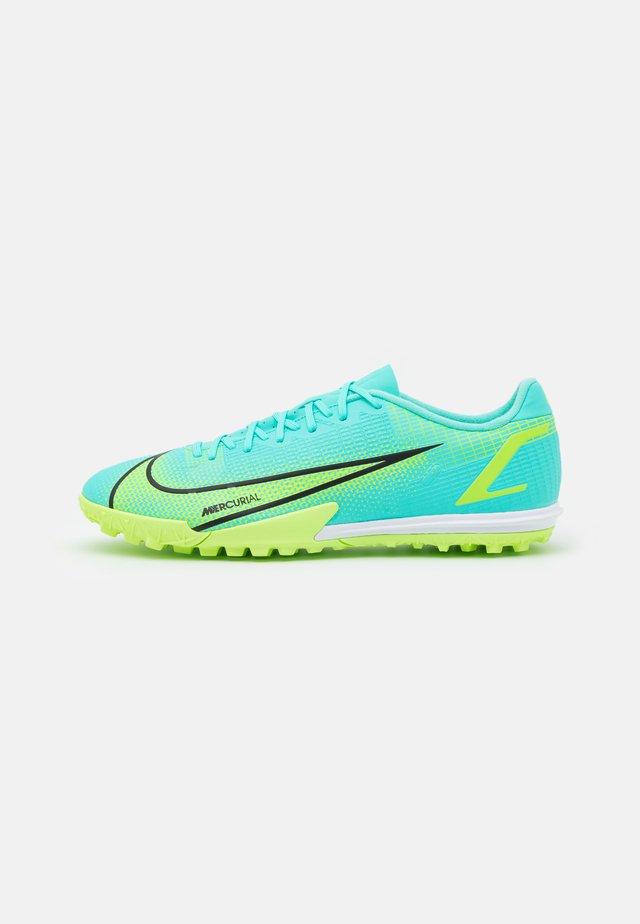 MERCURIAL VAPOR 14 ACADEMY TF - Voetbalschoenen voor kunstgras - dynamic turquoise/lime glow