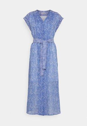 TITANIA - Robe chemise - azzurro intenso