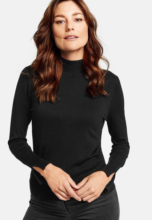 MIT TURTLENECK - Sweatshirt - black