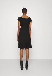Anna Field - BASIC - Mini dress - Jerseykjole - black - 2