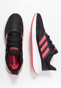 adidas Performance - RUNFALCON - Neutral running shoes - core black/shock red/footwear white - 1