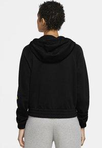 Nike Sportswear - Zip-up hoodie - black/volt - 2
