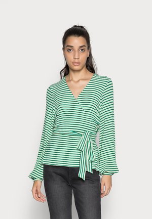 STRIPE BILLIE - Cardigan - multi pastel green