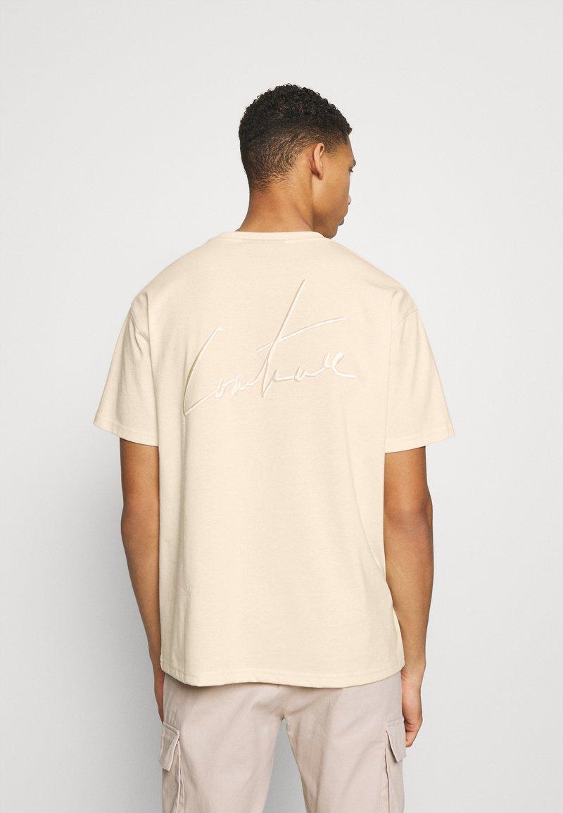 The Couture Club - OVERSIZED - Print T-shirt - ecru