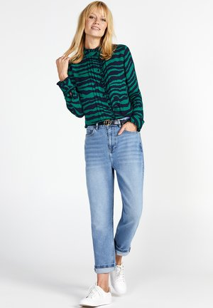 Straight leg jeans - denimmidblue