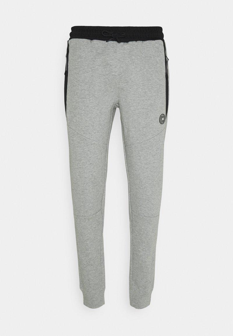 Cars Jeans - DORRESH - Tracksuit bottoms - grey melange