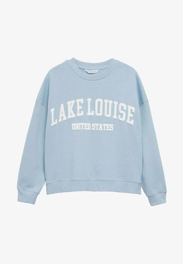 MIAMI - Sweatshirts - bleu ciel