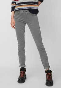Marc O'Polo - ALBY - Trousers - grey - 0