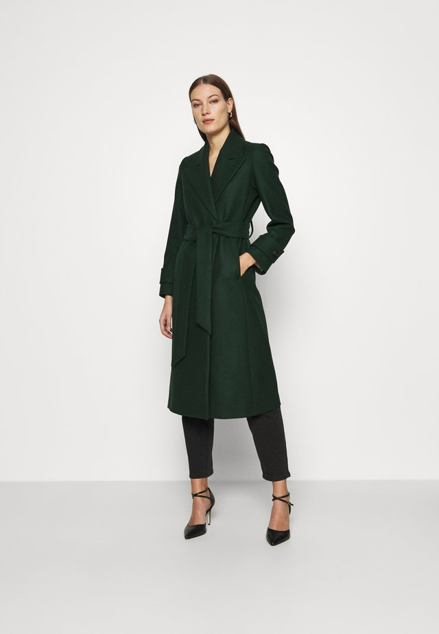 BELTED COAT - Cappotto classico - pine forrest