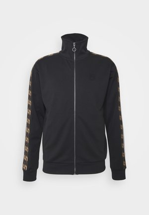 RETRO ZIP THROUGH - Kofta - black