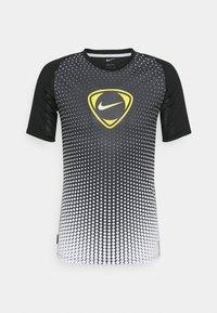 Nike Performance - ACADEMY - T-shirt print - black/white - 5
